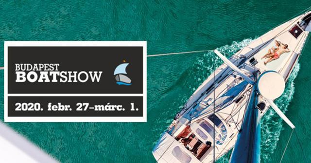 Budapest Boat Show 2020-ban is!